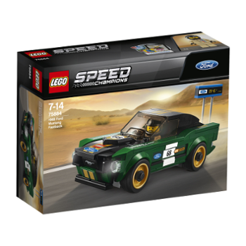 Lego Speed 75884 Ford Mustang Fastback 1968