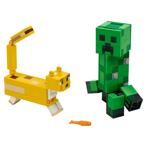 LEGO Minecraft 21156 BigFig Creeper i Ocelot