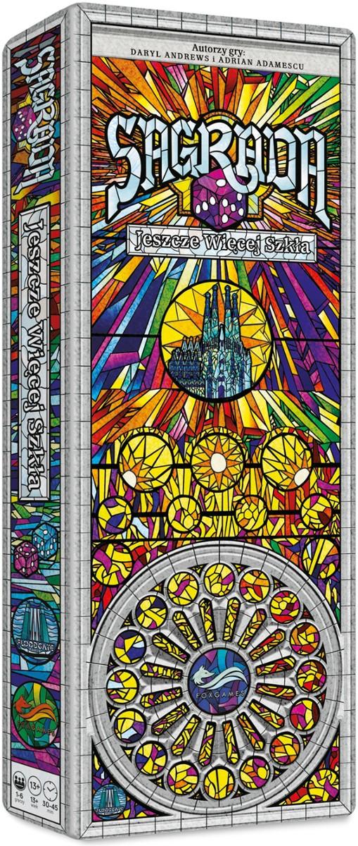 Sagrada: Jeszcze Więcej Szkła