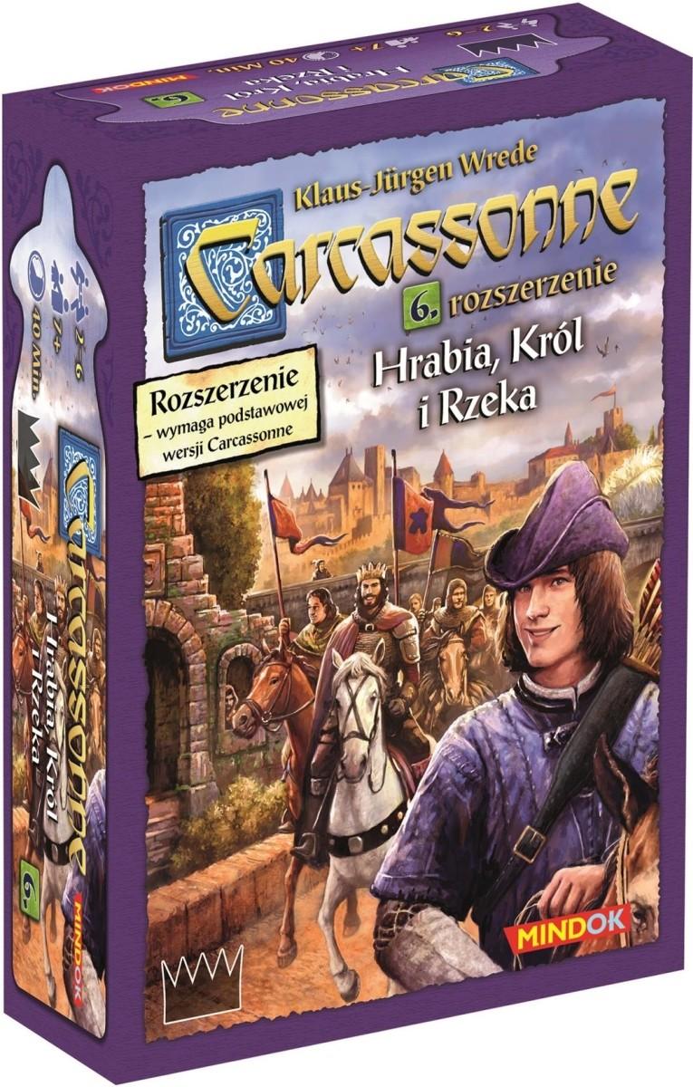 Carcassonne 6 Hrabia, Król i Rzeka (2)