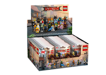 Lego Minifigurki - Seria Ninjago Movie