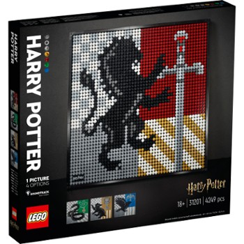 LEGO Art 31201 Harry Potter™ Herby Hogwartu™ V29