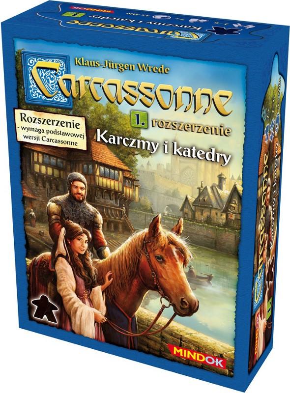 Carcassonne 1 Karczmy i Katedry