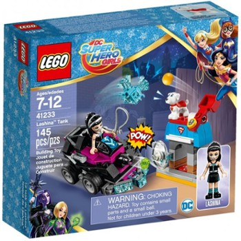 Lego Super Hero Girls 41233 Lashina i Jej Pojazd