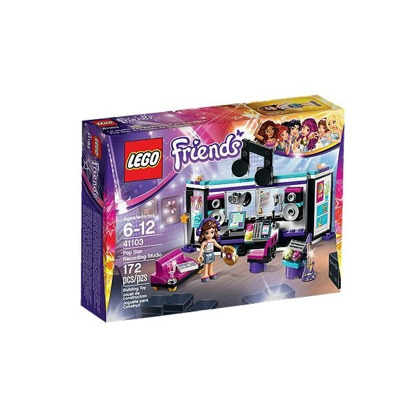 Lego Friends 41103 Studio Nagrań Gwiazdy Pop
