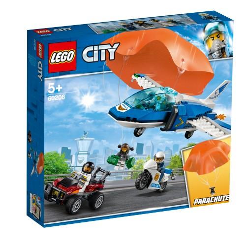 Lego City 60208 Aresztowanie Spadochroniarza