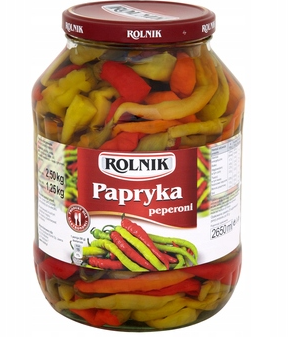 Papryka pepperoni 2650 ml