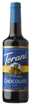 Torani syrop SUGAR FREE Chocolate 750ml