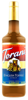 Torani syrop English Toffee 750ml