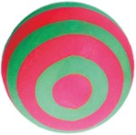 Ball / Stripes / Foam - Happet Z737 - Green & Pink