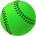 Baseball Toy / Foam - Happet Z753 - 72 mm / Green