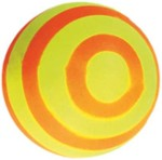 Ball / Stripes / Foam - Happet Z739 - Yellow & Orange