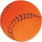 Baseball Toy / Foam - Happet Z755 - 72 mm / Orange