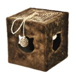 Scratching Cube - Brown - Happet