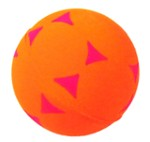 Ball / Triangles / Foam - Happet Z731 - Orange
