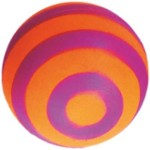 Ball / Stripes / Foam - Happet Z738 - Orange & Pink