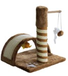Cat Scratching Post - Tunnel & Fish - Happet