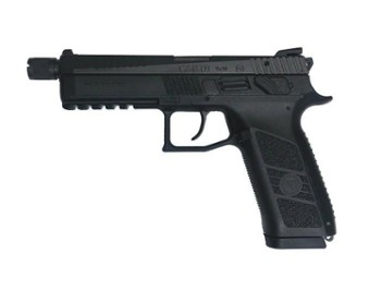 Pistolet CZ P-09 SD k. 9mm Luger manual safety+decocking