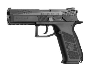 Pistolet CZ P-09  k. 9mm Luger, manual safety+decocking