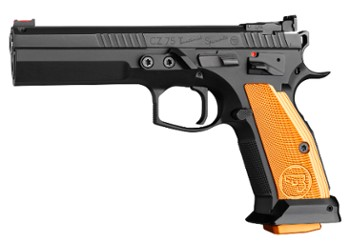 Pistolet CZ 75 TS Orange IPSC k. 9x19