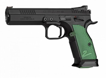 Pistolet CZ TS 2 k. 9x19   Racing Green