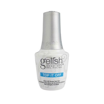 Gelish Top It Off, Top na lakier hybrydowy 15ml