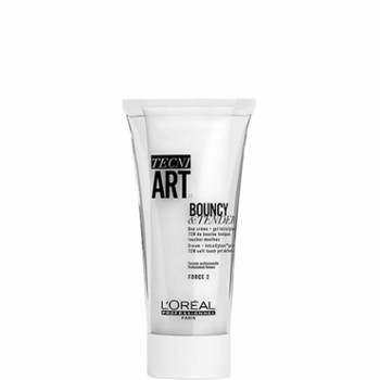 Loreal Tecni Art Bouncy&Tender, Żel-krem do loków 150ml