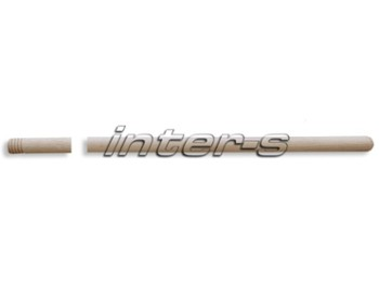 Threaded  wooden pole 120 cm
