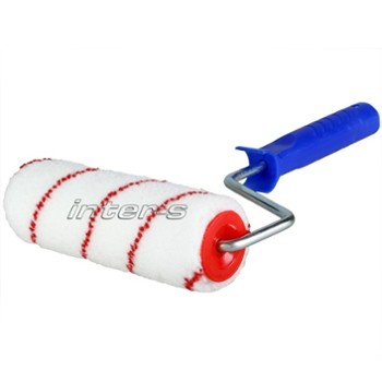 NYLON roller complete with frame 18 CM
