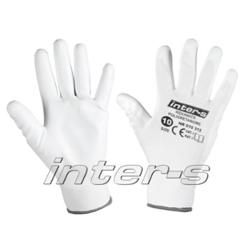 Polyurethane workong gloves 9