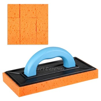 Tiling float with scatching sponge 30mm