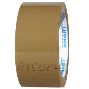 Packaging tape, natural rubber 48mm/60yd