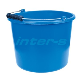 Builders bucket 16 L blue