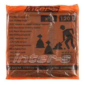 Rubble bags (5 pcs) 120 L