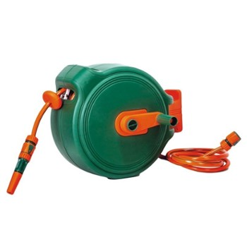 Wall-Mounted Hose Reel 20m, 1/2