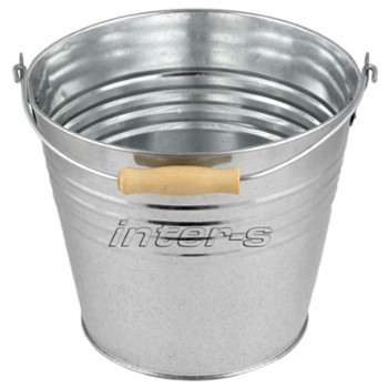 Galvanized bucket 12 L