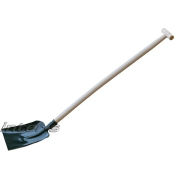 Shovel, wooden shaft