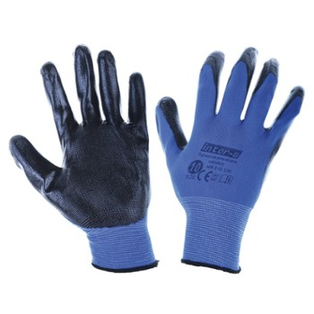 Nitrile covered working gloves