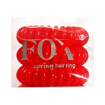 Gumki FOX Spring Hair Ring 3szt/ op