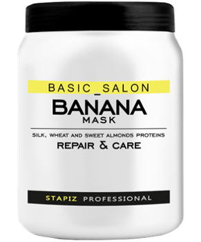 STAPIZ Basic Salon Banana, Maska, 1000ml