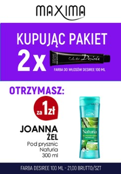 Farba 100 ml DESIREE x 2 + żel Joanna 300ml