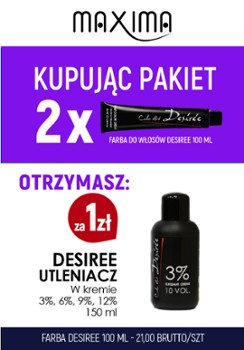 Farba DESIREE x 2 + woda 150ml Desiree