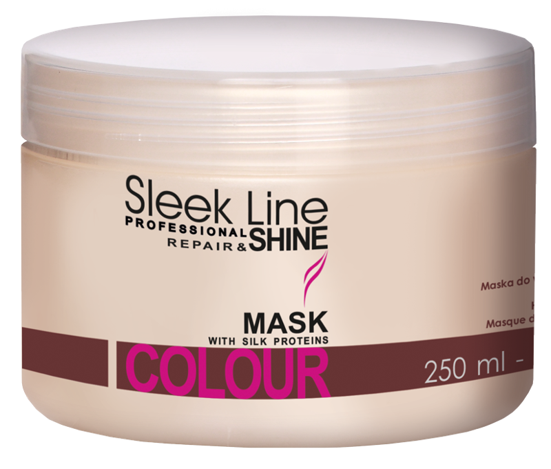 STAPIZ Maska do włosów farbowanych 250ml Sleek Line Color