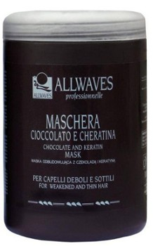 ALLWAVES Maska keratynowa 1000ml Chocolate and Keratin