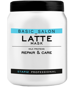 STAPIZ Basic Salon Latte, Maska, 1000ml