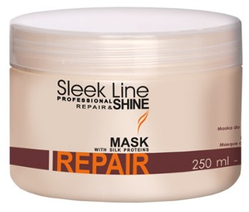 STAPIZ Maska do włosów suchych 250ml Sleek Line Repair