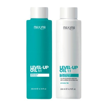 Rozjaśniacz MAXIMA olejek Level Up 2x 200ml