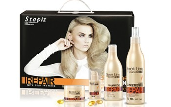 STAPIZ Sleek Line Repair, Zestaw; 300ml + 300ml + 250ml + 30ml