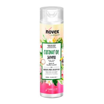 Szampon NOVEX 300ml Coconut Oil  NEW