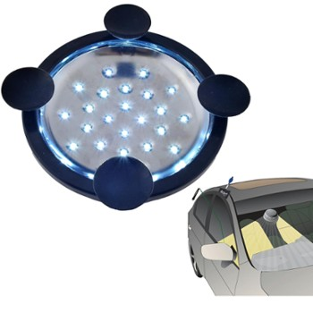 LED FLASHLIGHT WITH SUCTION CUPS
